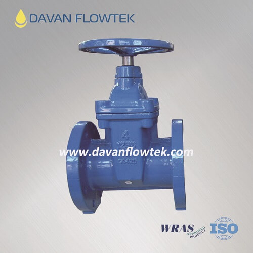 AWWA C509 gate valve rubber wedge