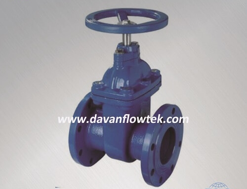 BS5163 resilient seat gate valve flange type