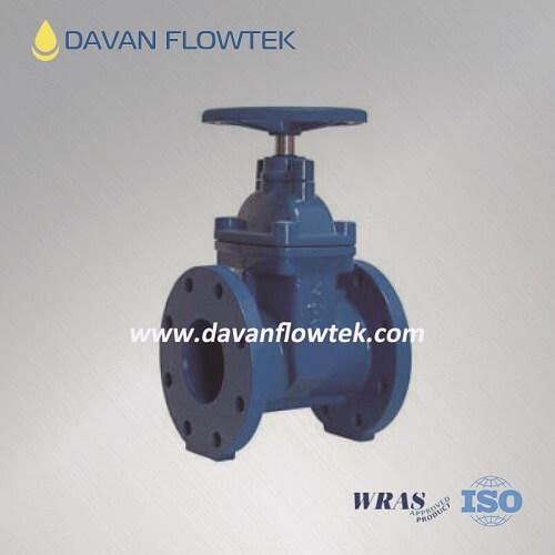 JIS B2062 10k resilient seat gate valve
