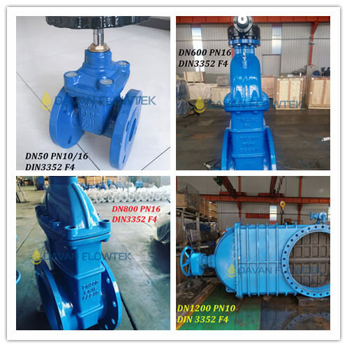 all size resilient seat gate valve