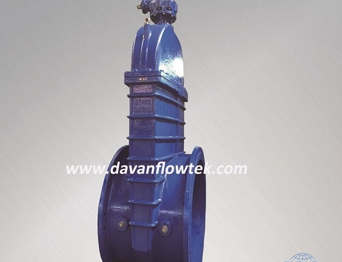 big size rubber wedge gate valve with bevel gear
