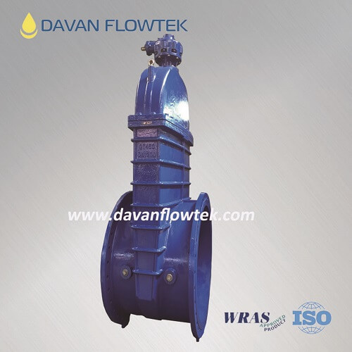 big size rubber wedge gate valve