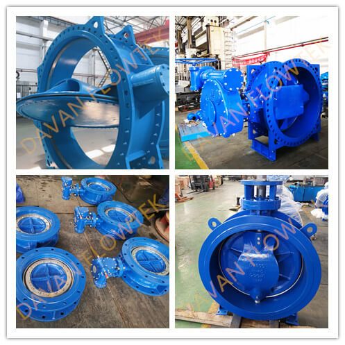 double eccentric butterfly valve