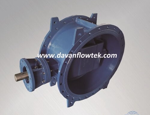 double offset butterfly valve EN558 series 14 flange type