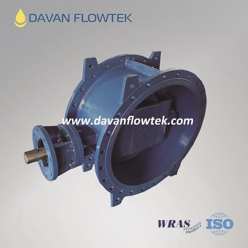 double offset butterfly valve EN 593 series 14 flange type