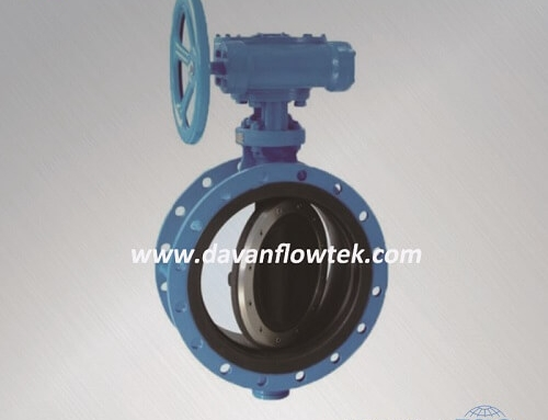 full rubber coated butterfly valve flange type