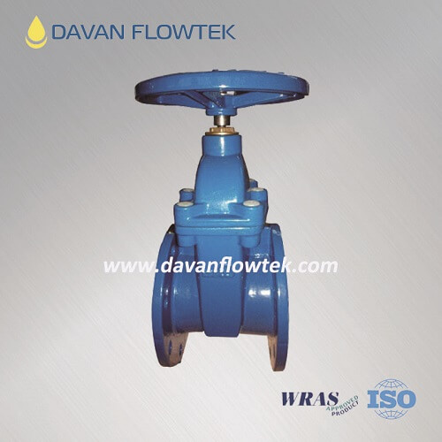 gate valve DIN3352 F4 rubber wedge