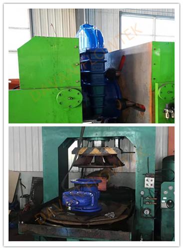 gate valve hydraulic testing