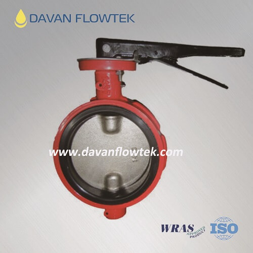 industry wafer butterfly valve