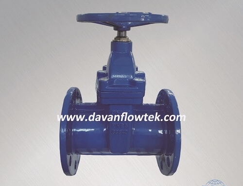 resilient seat gate valve DIN 3352 F5