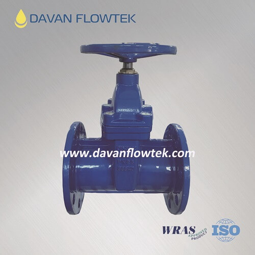 reslient seat gate valve DIN 3352 F5