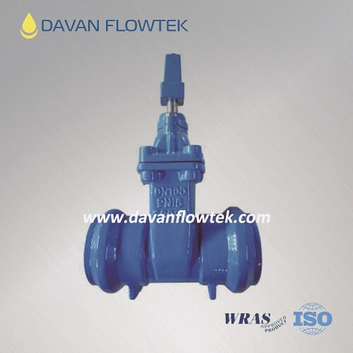 socket type gate valve for PVC pipe
