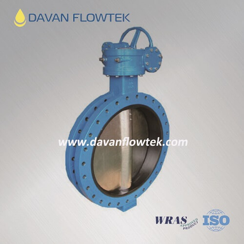 u type butterfly valve flange connection