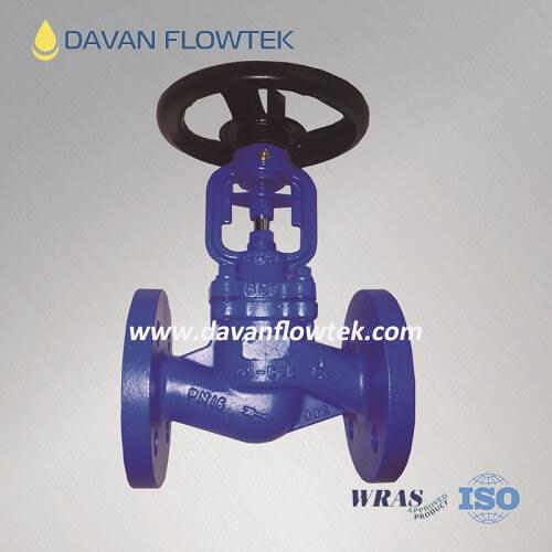 bellow globe valve cast steel PN16
