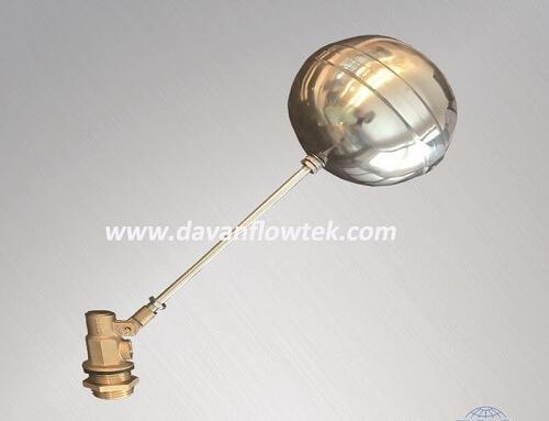 brass float ball valve NPT threaded for water tank