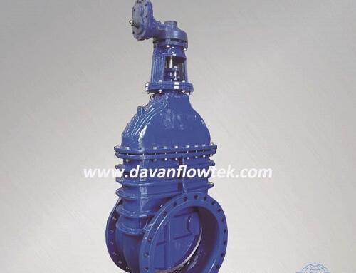 bs5163 metal seated gate valve non rising stem