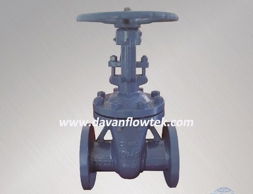 carbon steel gate valve din standard PN40