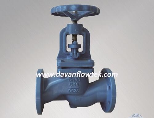 cast iron globe valve DIN standard PN16