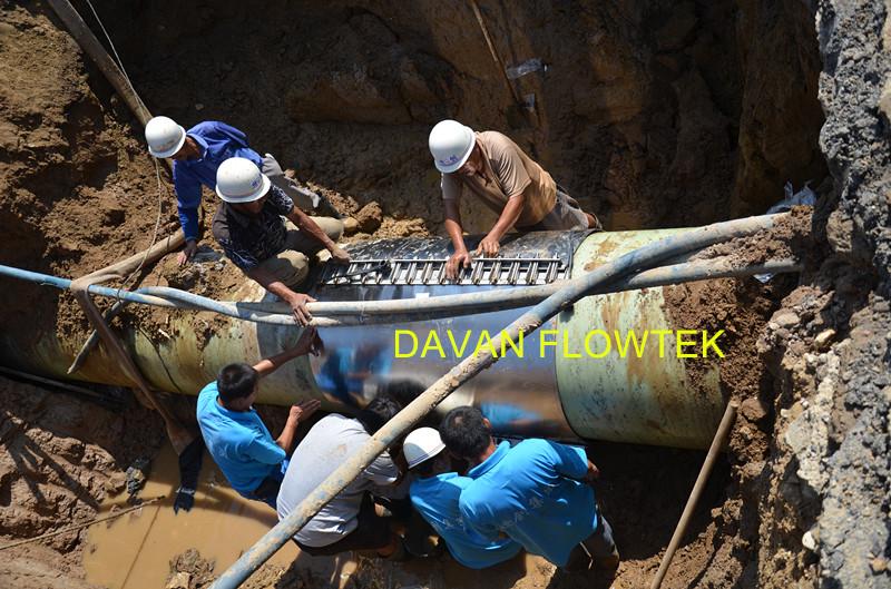 dn1800 pipe repair