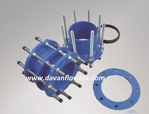 ductile iron dismantling joint flanged PN16