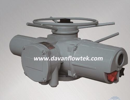 electric actuator intelligent multi turn type IMC