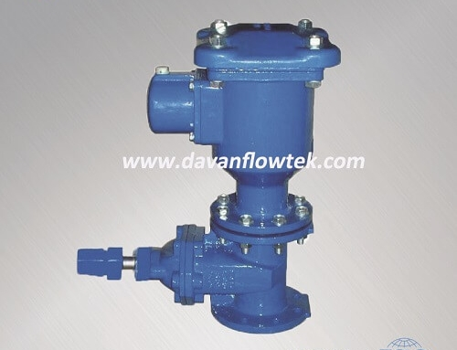 gate and air valve connection type