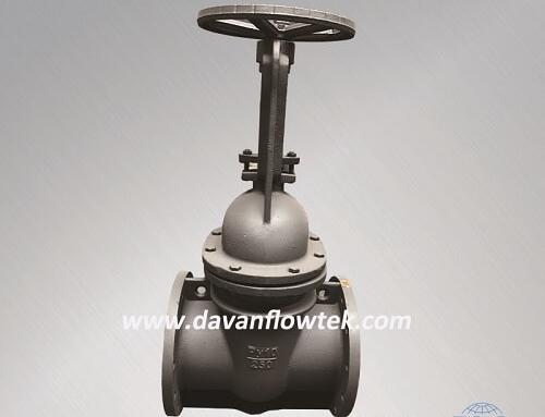gost cast iron gate valve PN10 flange type