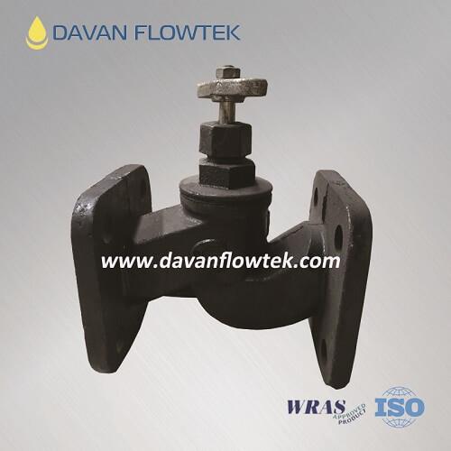 gost globe valve cast iron flange type PN16