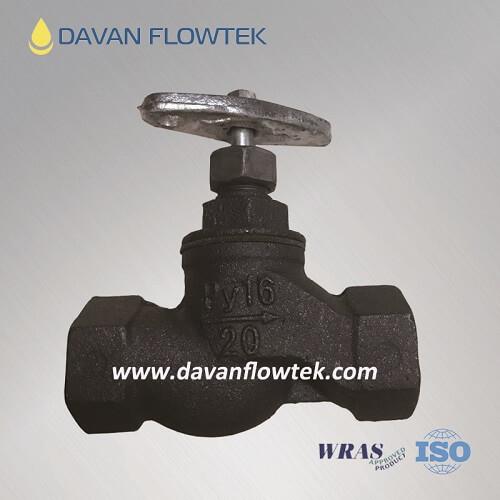 gost screw globe valve cast iron PN16