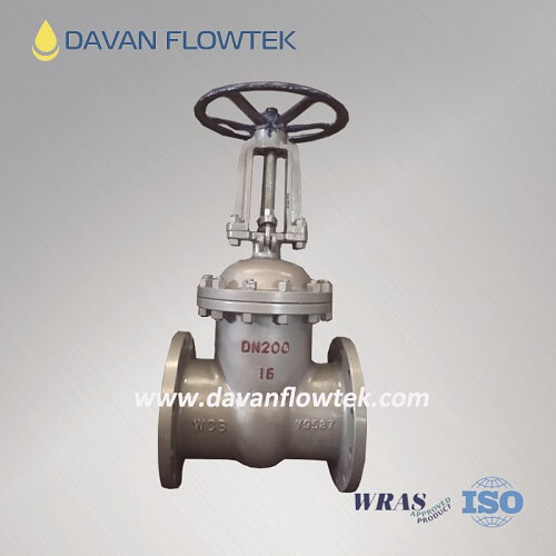 gost wcb gate valve flange type PN16