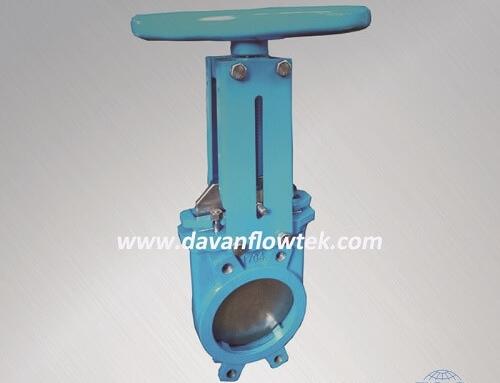 knife gate valve wafer type PN16