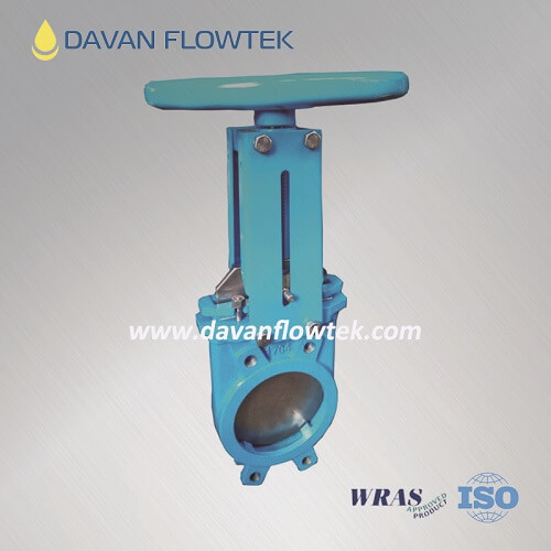 knife gate valve wafer type PN16