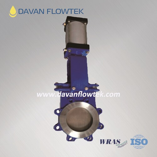 lug knife gate valve ductile iron body