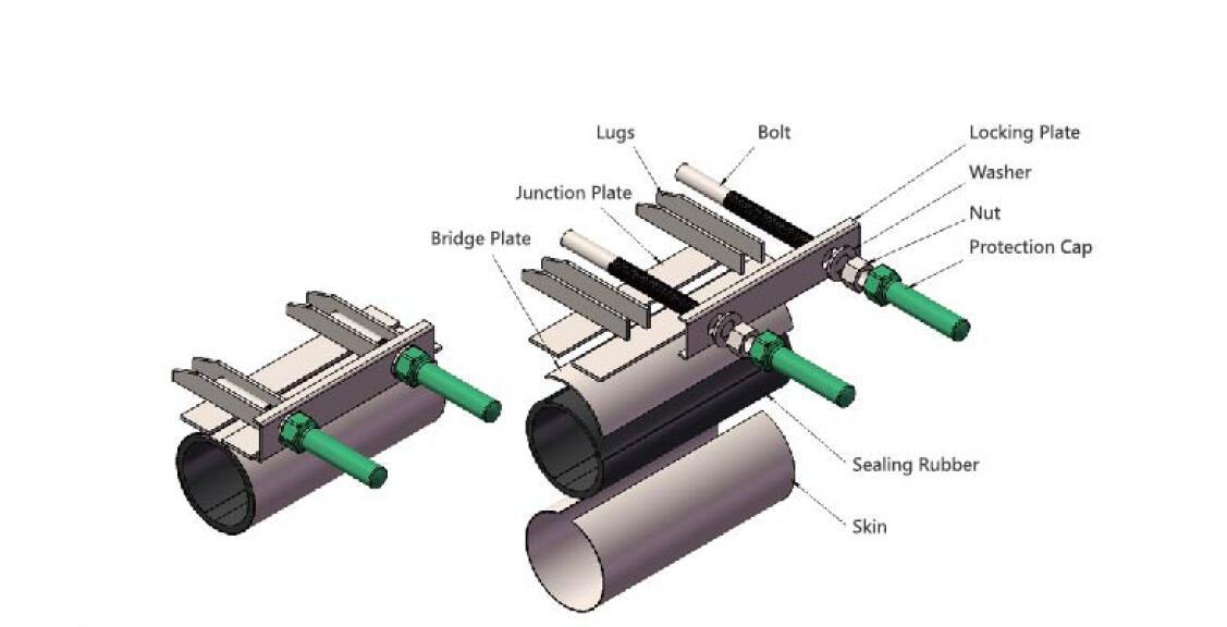 repair clamp specification