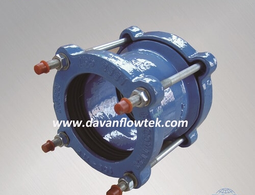 ductile iron coupling for pipe connection use