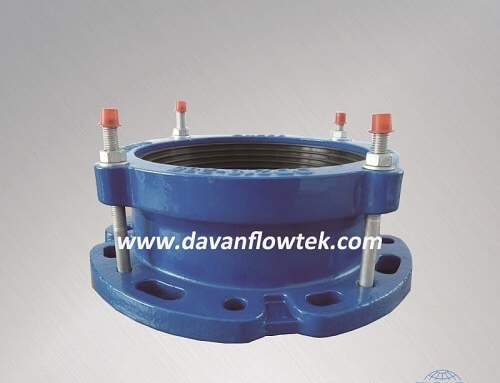 flange adaptor ductile iron for pipe connection use