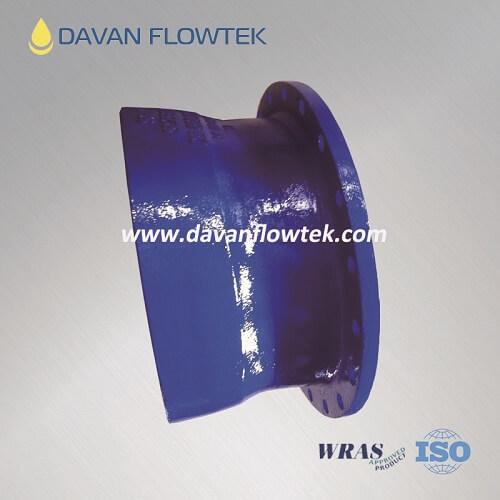 flange socket ductile iron FBE ISO2531