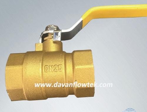 brass ball valve with NPT or BSP threaded