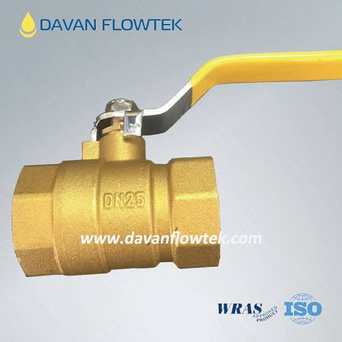 brass ball valve with NPT or BSP threaded