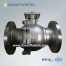 cf8m ball valve 2pc high platform