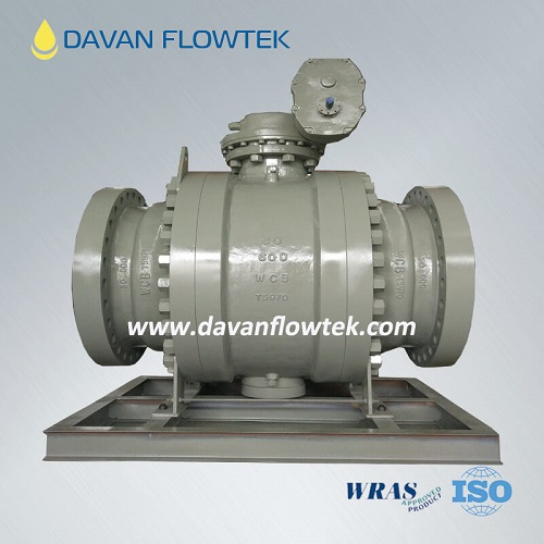 forged ball valve in high pressure pipeline