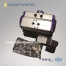 single acting pneumatic actuator with solenoid valve