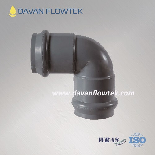 upvc 90 degree elbow for water pipe