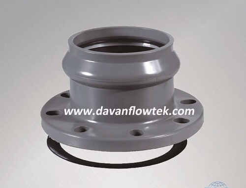 upvc flange socket for pipe connection