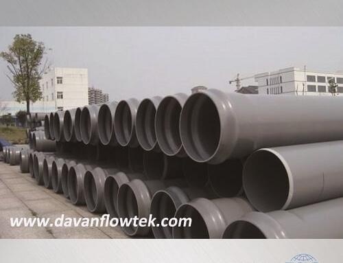 upvc pipe in socket ending for water pipeline