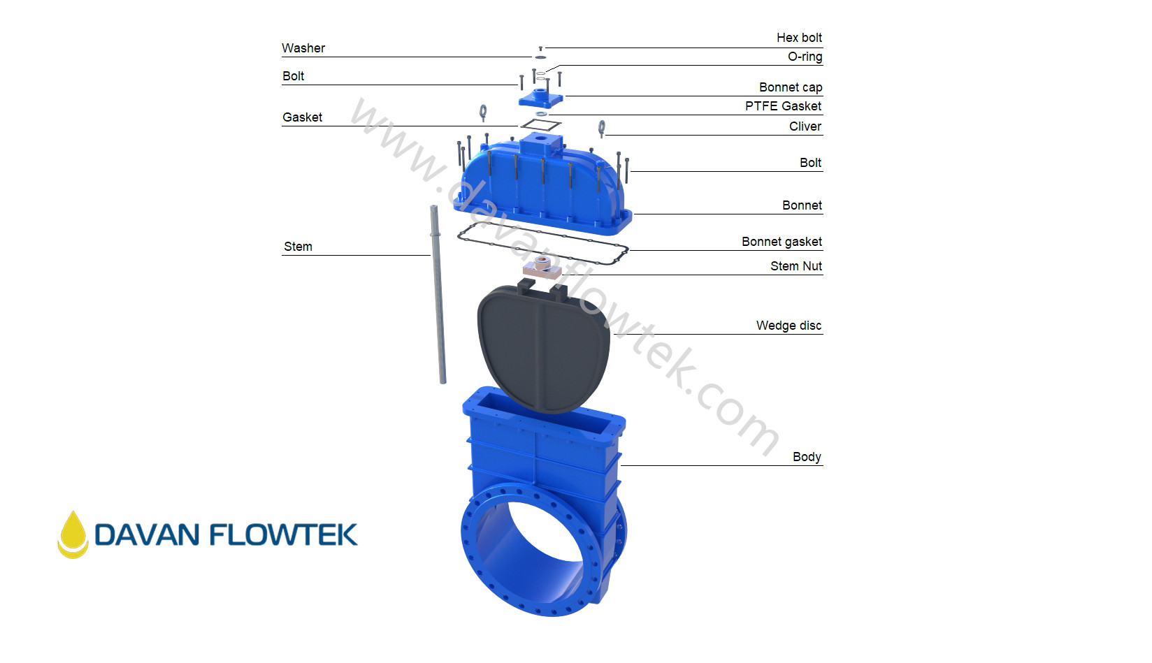 big size gate valve drawing