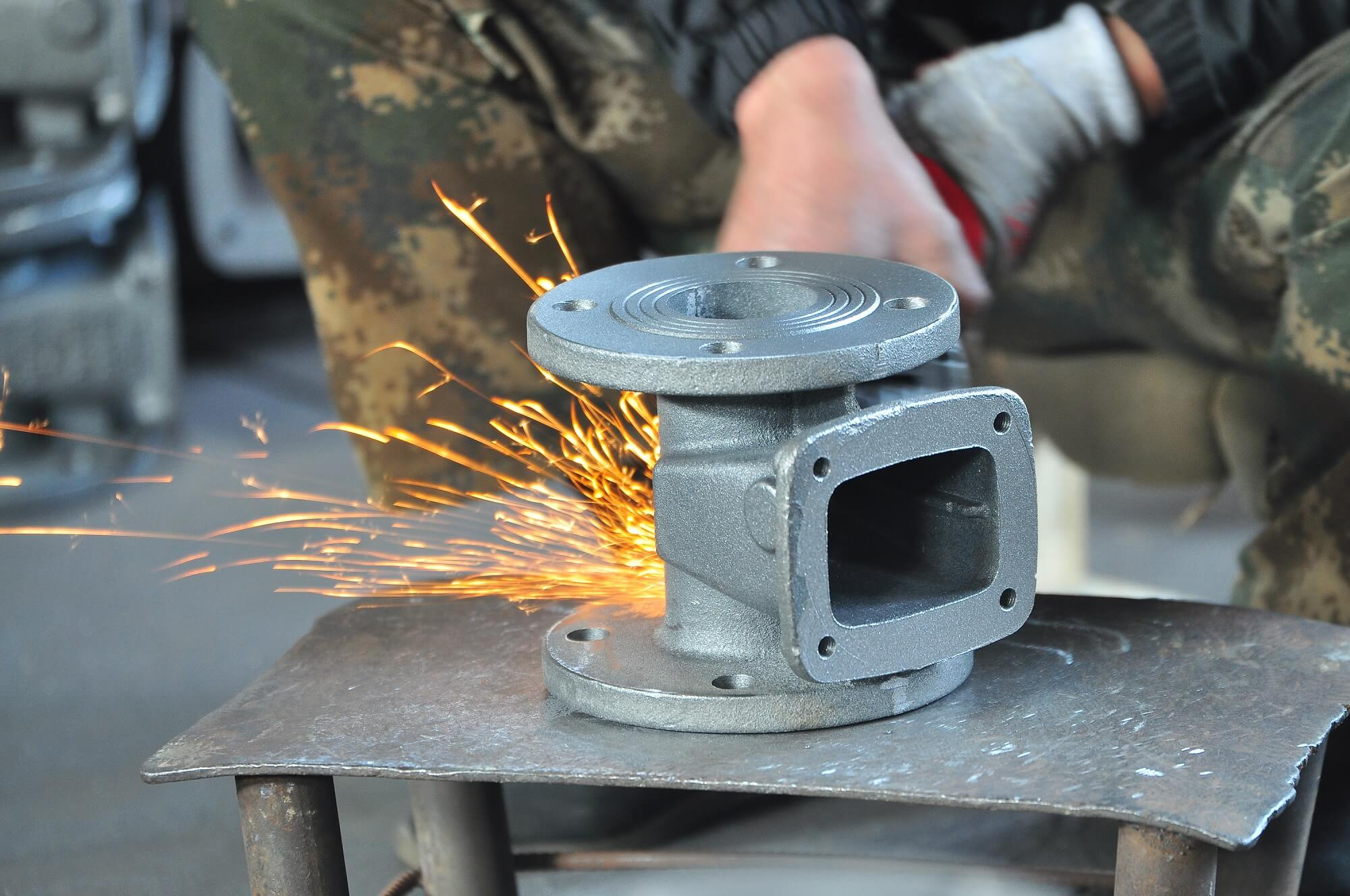 gate valve casting polish