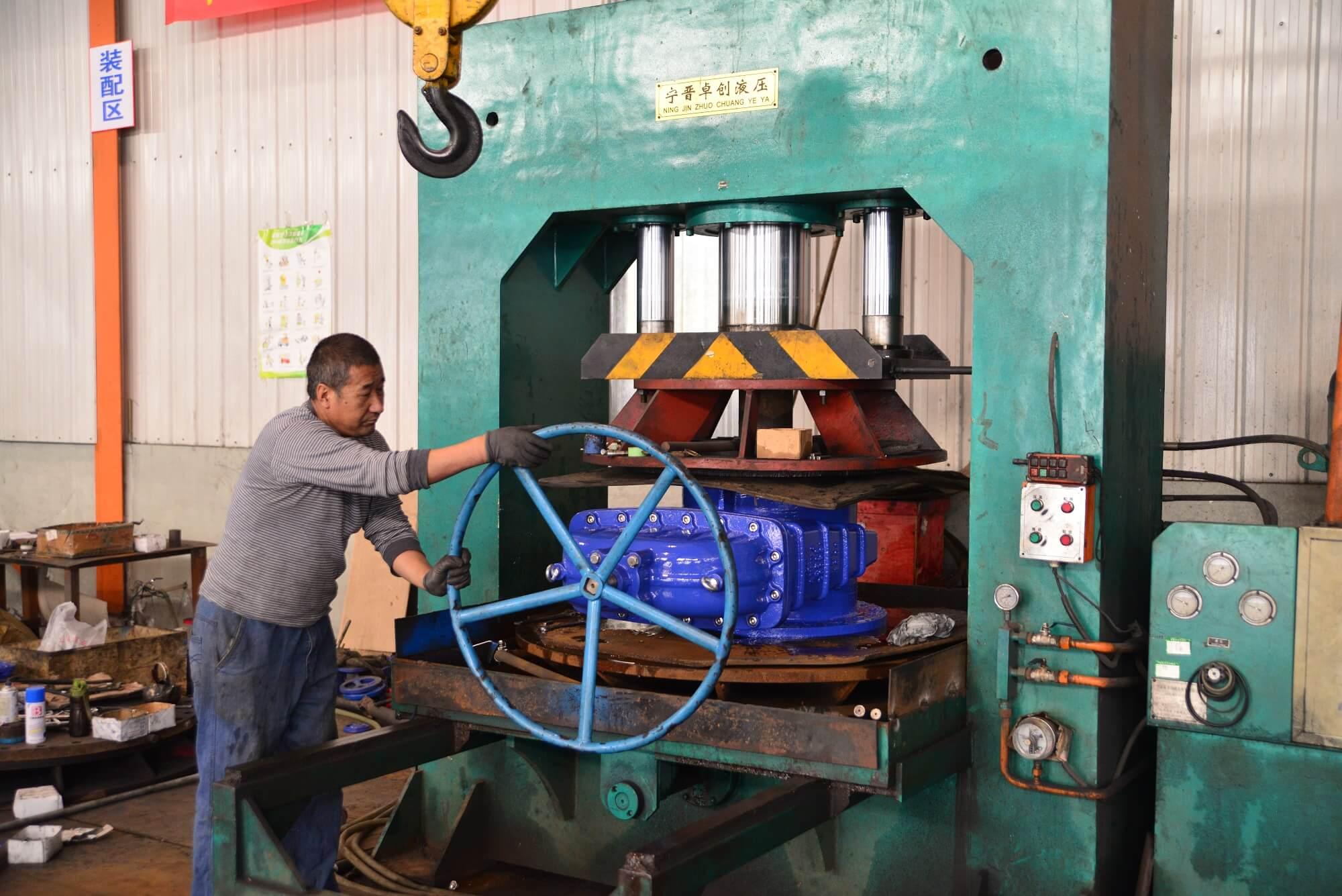 gate valve pressure testing