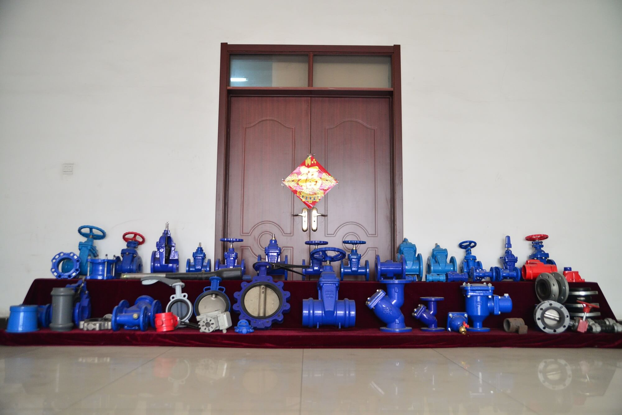 gate valve showroom