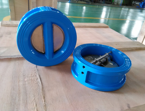 2 different point for swing check valve and wafer check valve in application